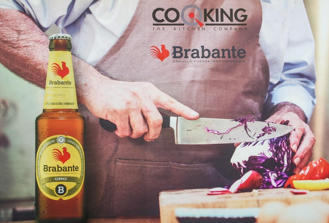 Escaparate Cocking the kitchen company Brabante